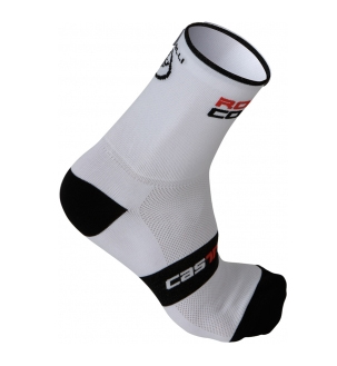 rosso corsa 13 sock bianchi