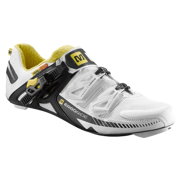 scarpe zxellium white/black/yellow mavic
